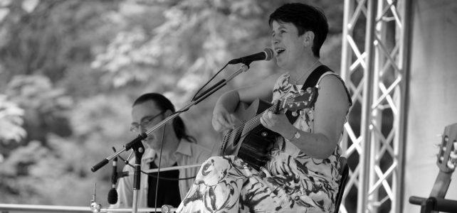 Karan singt auf dem U&D in Würzburg